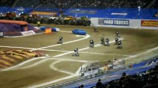 Bar Stool Race At Monster Jam 2010 Ford Field