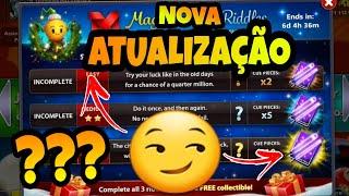 SACANAGEM DA MINICLIP NOVA ATUALIZAÇÃO -8ball pool