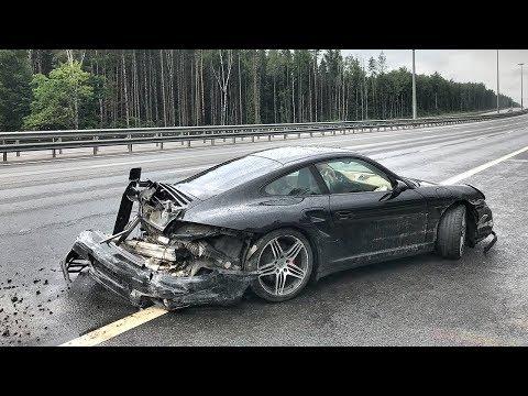 Попал в аварию / Porsche 911 Drop Test
