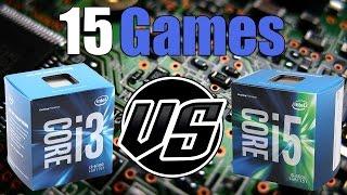 i3-6100 vs i5-6600 | GTX 1070 OC | 2560 x 1440 |  in 15 Games