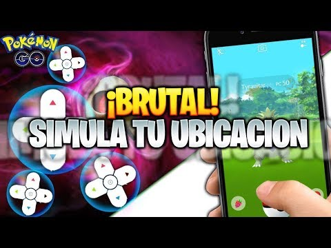 BRUTAL Joystick SIN SALTOS ¡ MEJOR SIMULACION de GPS Pokemon GO ! (No Android) UBICACION Falsa iOS thumbnail