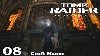 [HD] Tomb Raider Underworld Walkthrough Part 8 - Croft Manor - ITA (PS3)