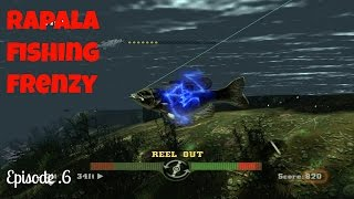 Rapala Fishing Frenzy/ Fishing in a Thunder Storm pt6
