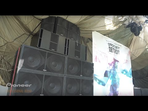 Pioneer Pro Audio @ Movement Music Festival 2016