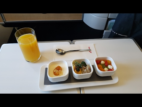 Swiss Business class - Boeing 777-300er - Flight LX2807 GVA-ZRH - Swiss Business Lounge GVA