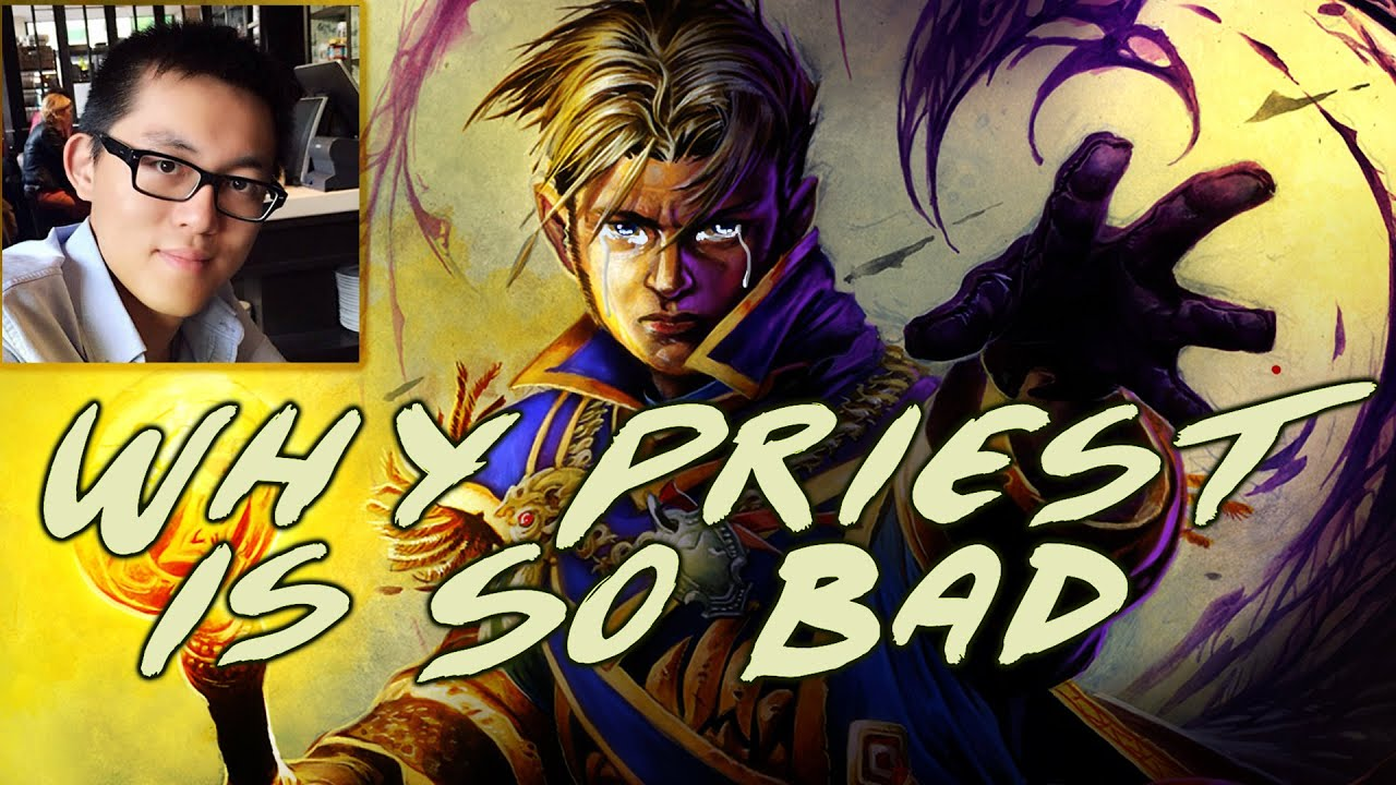 hearthstone why priest is so bad paladin vs priest youtube