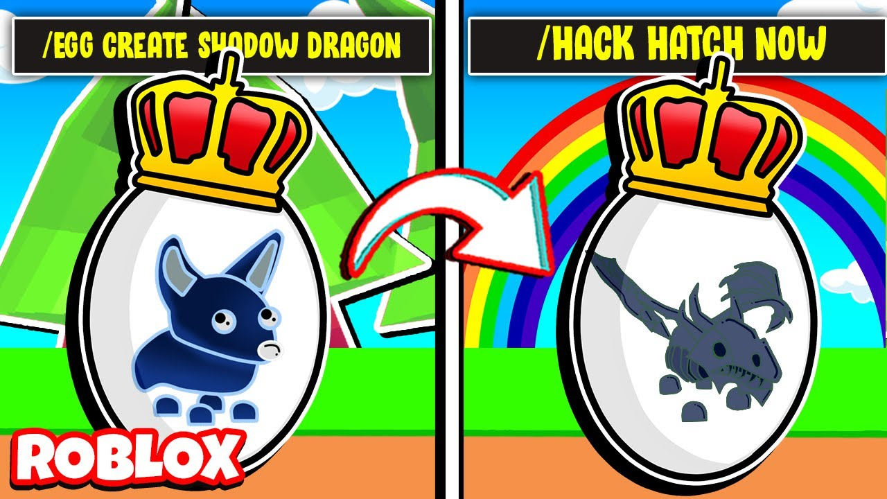 HOW TO HATCH A *SHADOW DRAGON* FROM A ROYAL EGG IN ADOPT ME! (Roblox)