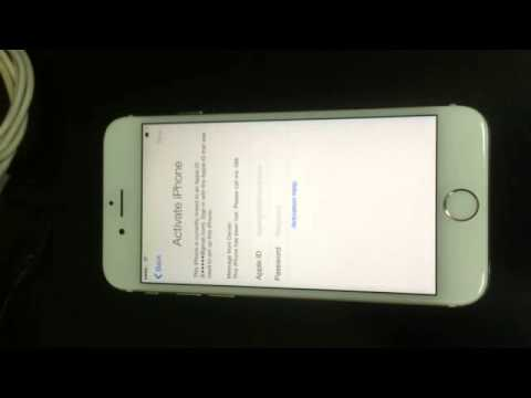 locked iphone 6 iphone 6 icloud activation locked 12592