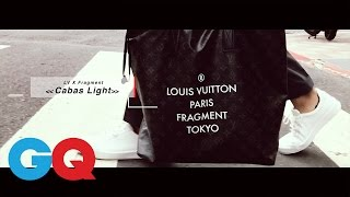 LV X 藤原浩Fragment Tokyo《Cabas Light》托特包【GQ編輯開箱】|GQ Unboxing 藤原ヒロシ 検索動画 21