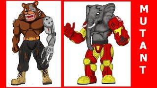 Mutant Cyborg Animals