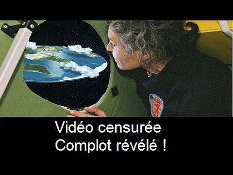 Preuve vidéo que la Terre est plate pour les QI d'huitre - CC
