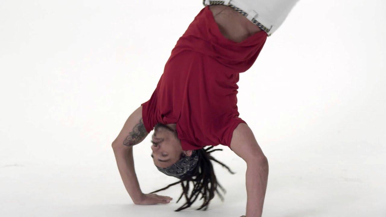 Macacão Tutorial - Versão Português de Capoeira Vibe aplicativo - Mestre Parente