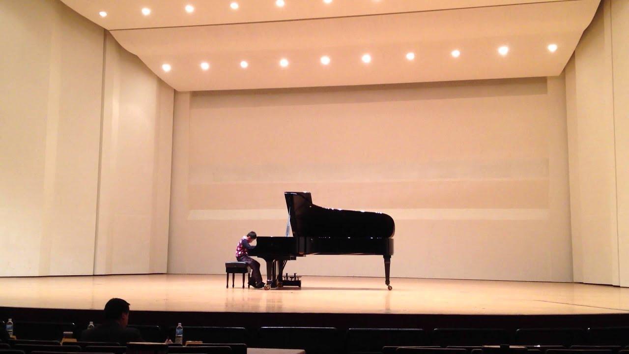 2014 大臺南國際音樂比賽國小二年級鋼琴組 林昭輝 - YouTube