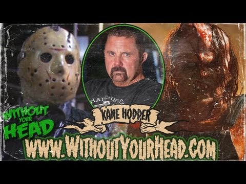 Kane Hodder Hatchet 3 interview