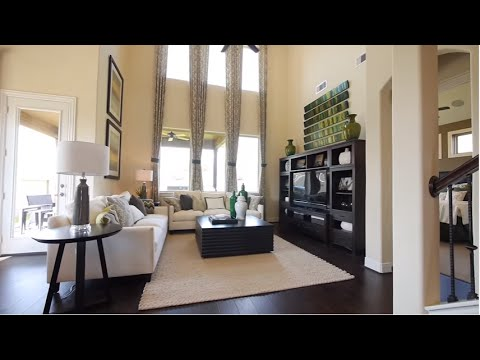 The Magnolia Floor Plan Model Home Tour Gehan Homes Youtube