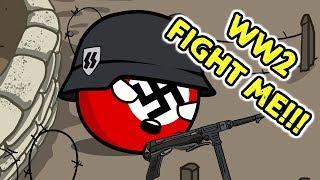 WW2 Germany VS Russia - Countryballs
