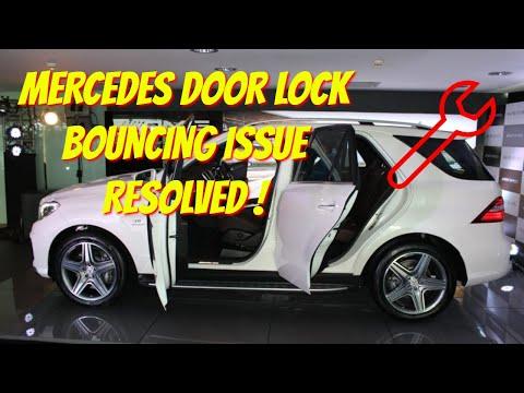 Mercedes Door Lock Repair Bouncing Cheap Fix Youtube
