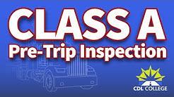 [Tutorial] CDL Class A Pre-Trip Inspection DEMO