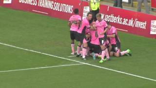 Highlights: Wycombe 2-3 Northampton