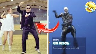 FORTNITE CRINGY CELEBRITY REAL LIFE DANCES (Try Not To Cringe Challenge)