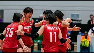 石井優希 Ishii Yuki Highlight Japan vs Italy 2019 Montreux Volley Masters