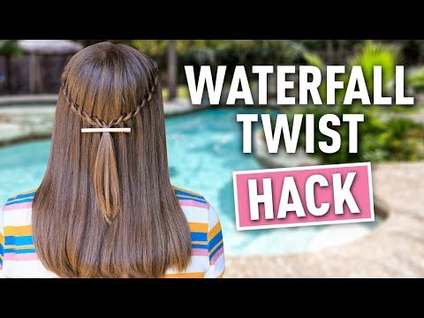 Waterfall Twist HACK | Easy DIY Hairstyles