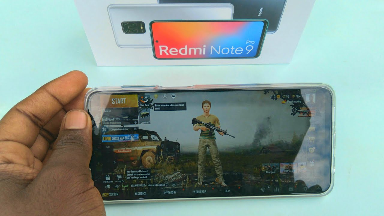 Redmi Note 9 Pro / Pro Max Gaming Test - Pubg Mobile, Call Of Duty Mobile, NBA and Frag