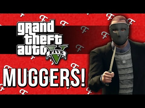 GTA 5: Donnie Danger, No Ice Cream, MUGGERS! (Comedy Gaming)