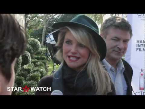 Christie Brinkley red carpet interview at Hamptons International Film Festival