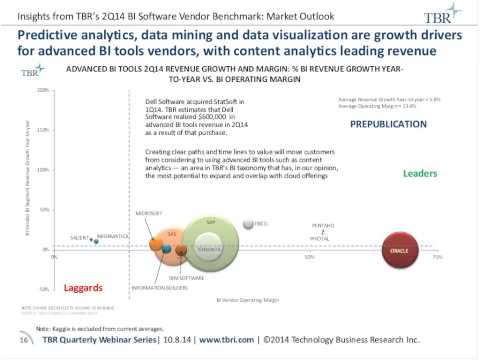 Serving 2 Types of Customers to Drive Growth: Insights from TBR's BI Software Vend