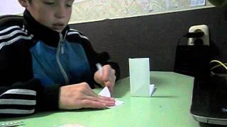 как сделать сюрикен из бумаги уроки оригами