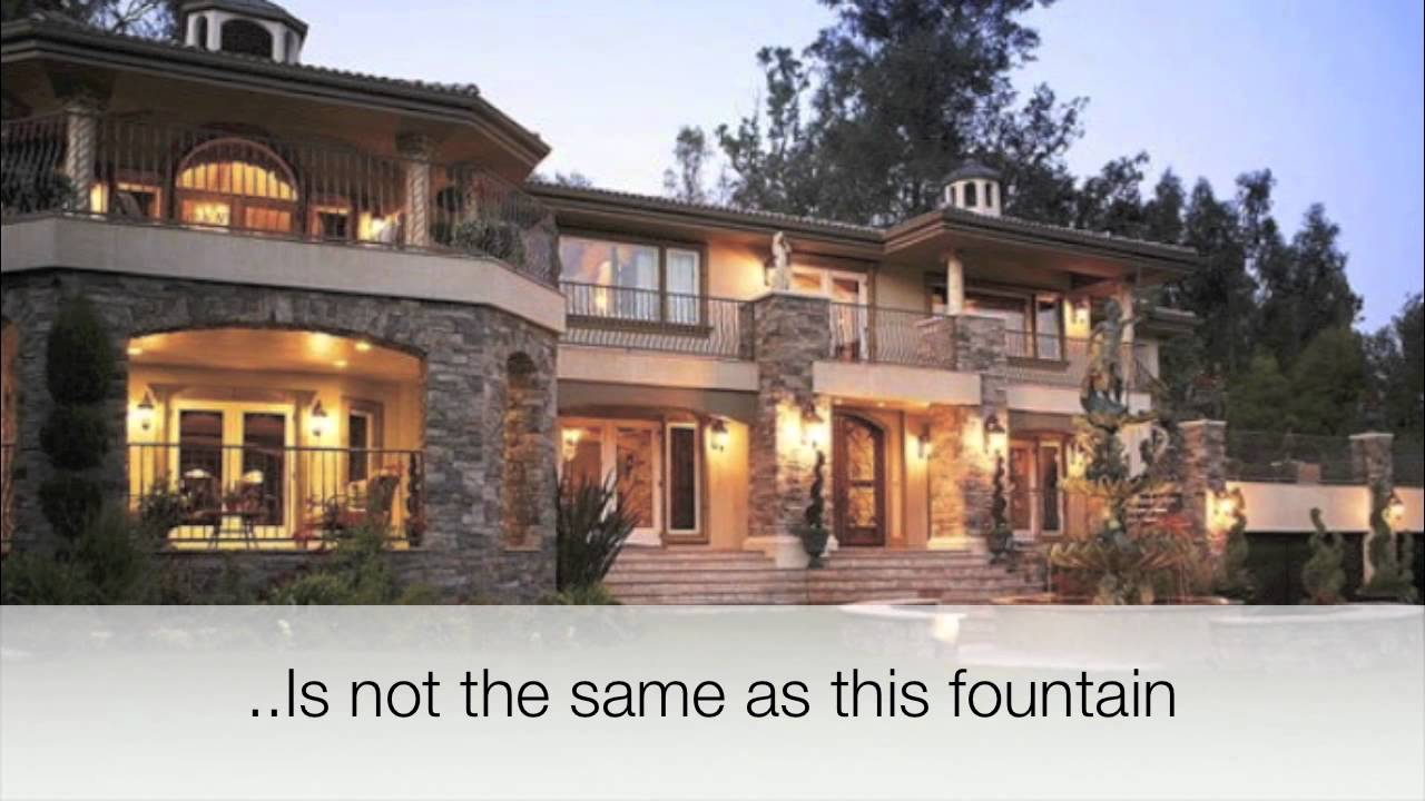 The Real Kardashian/Jenner House - YouTube