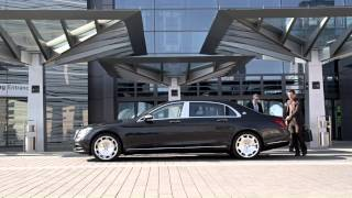 Mercedes-Maybach S600 footage