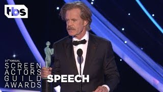 William H. Macy: Acceptance Speech | 24th Annual SAG Awards | TBS