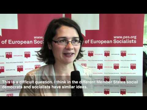 Interview Daniela Kolbe - A Fair Growth Model for Europe conference