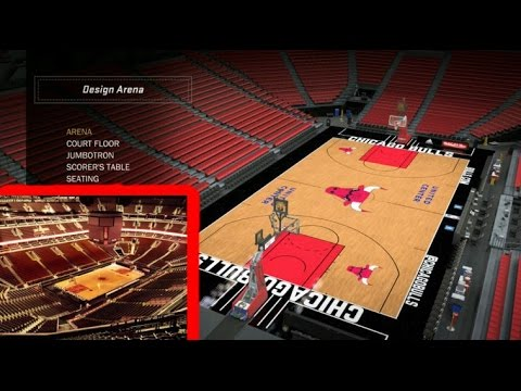 NBA 2k17 My Team   How To Make The United Center