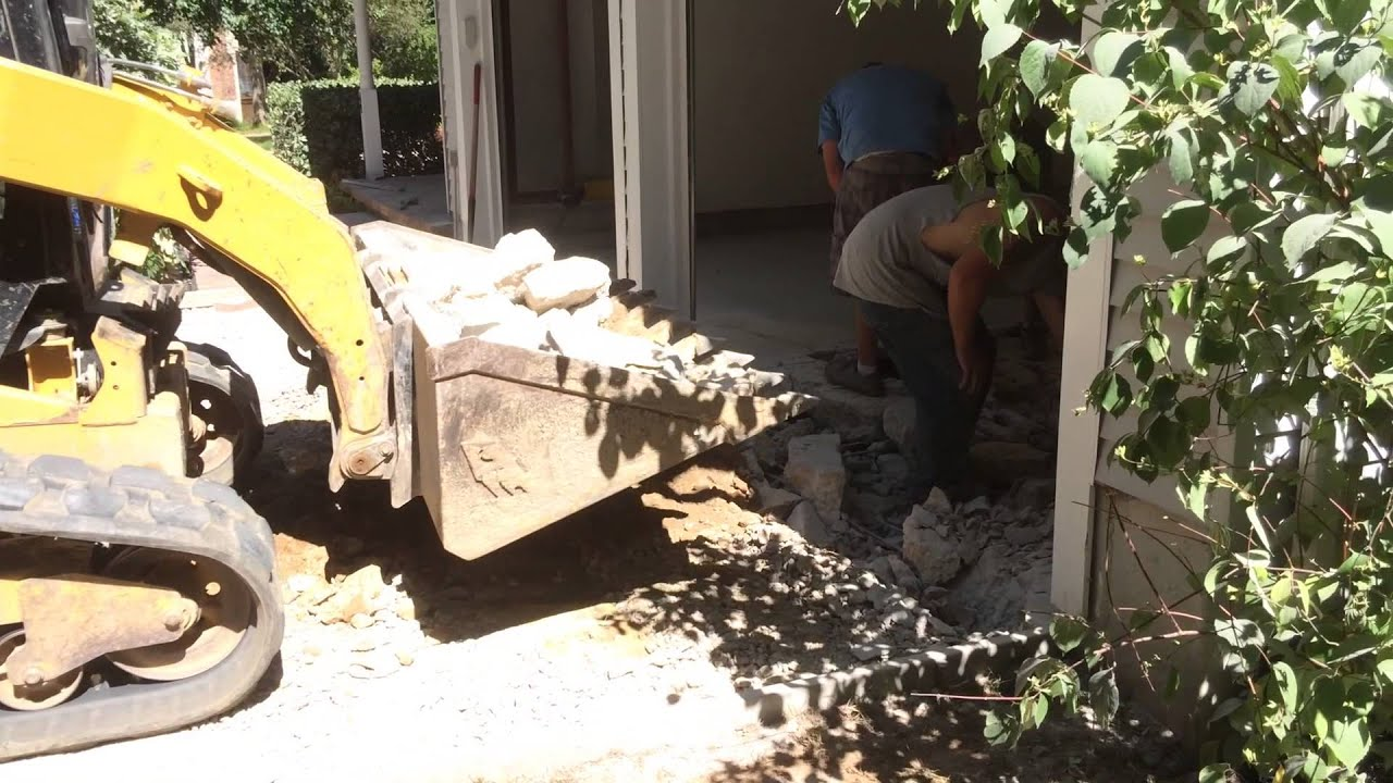 How To Fix A Sinking Concrete Slab