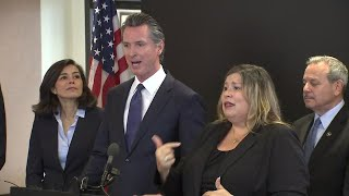 Gov. Gavin Newsom provides daily coronavirus update in California
