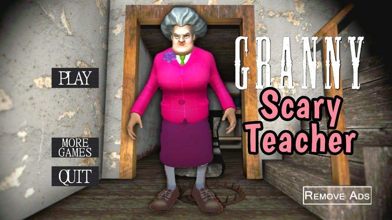جراني تحولت لي معلمة الشريرة😈👹granny is scary teacher 3d |جراني تحديث الجديد|horror game|gragarnny
