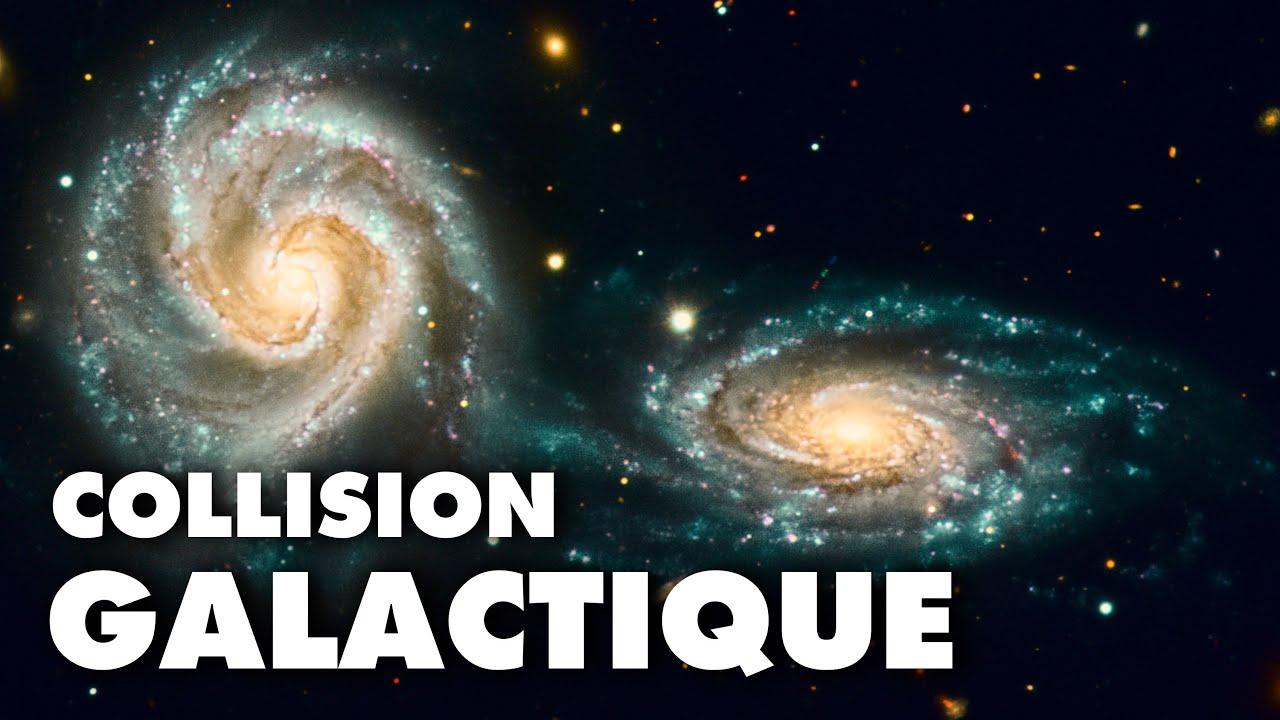 Collision galactique, quand la voie lactée fusionnera avec Andromède