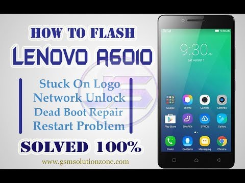 Lenovo A6010 Flashing Done 100% Without Dead Risk | A6010