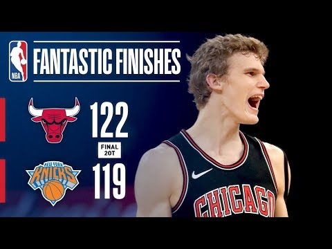 The Bulls and Knicks Play In Double OT Thriller at MSG | January 10, 2018