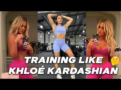 I Trained like Khloe Kardashian for the day… (SWEATY CARDIO!?)