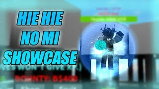 HIE HIE NO MI/ICE ICE FRUIT SHOWCASE - France One Piece: Open Seas Roblox
