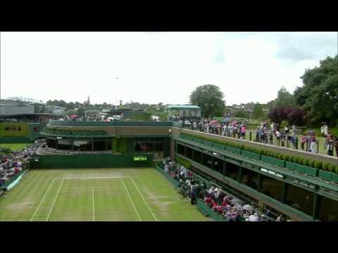 Marketa VONDROUSOVA vs Jelena OSTAPENKO (Jr. Wimbledon)
