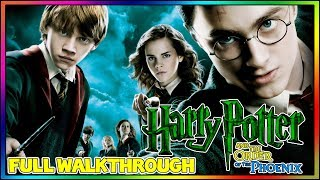 Harry Potter and the Order of the Phoenix - FULL 100% Walkthrough