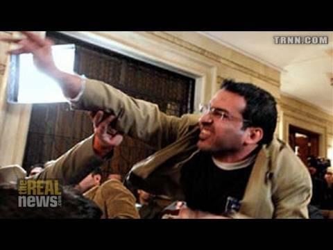 "TRNN Exclusive: The man that ""shoed"" Bush"