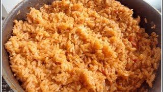 Jollof rice - African Food Recipes