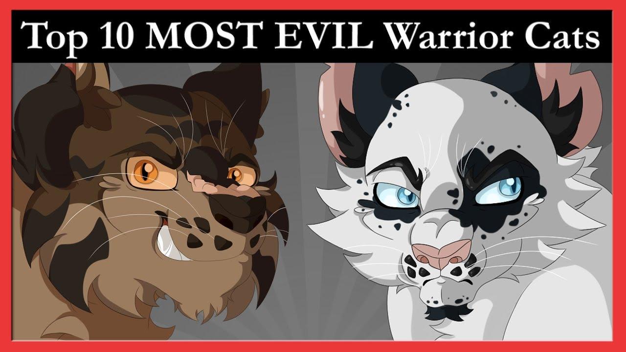 Top 10 MOST EVIL Warrior Cats Characters