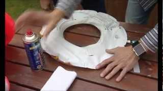 Jak si poradíme s lepením poškozených plastových člunů, vodních kol a bazénů